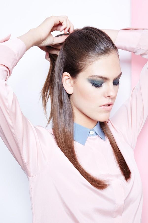 Hướng dẫn 5 cách làm kiểu tóc đuôi ngựa đẹp cho nàng sành điệu dạo phố cuối tuần hè 2015 phần 2