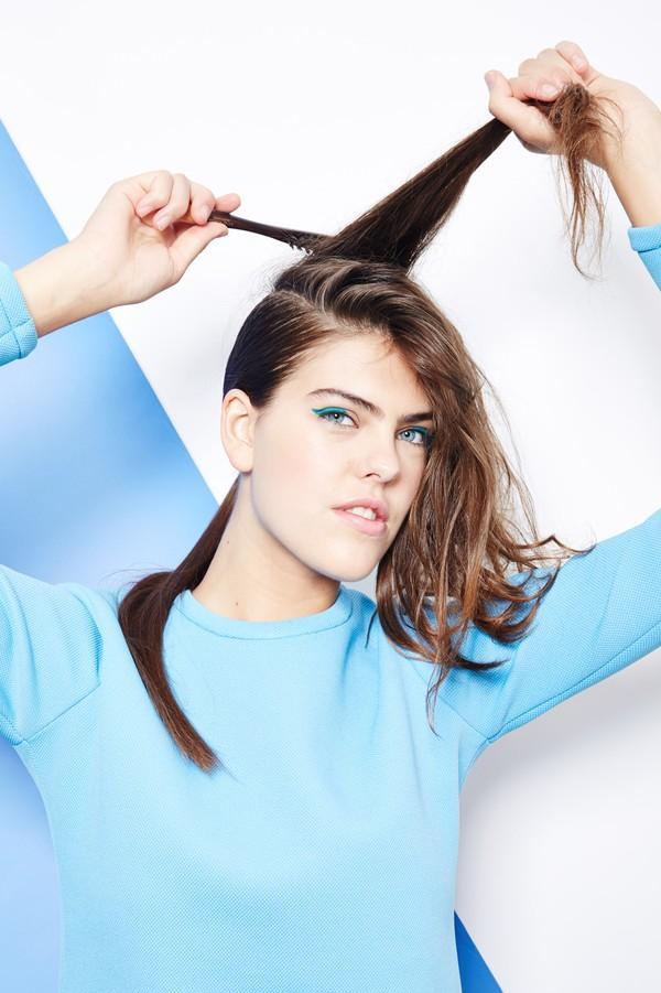 Hướng dẫn 5 cách làm kiểu tóc đuôi ngựa đẹp cho nàng sành điệu dạo phố cuối tuần hè 2015 phần 20