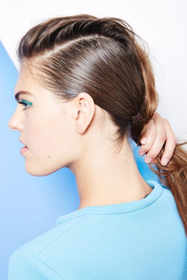 Hướng dẫn 5 cách làm kiểu tóc đuôi ngựa đẹp cho nàng sành điệu dạo phố cuối tuần hè 2015 phần 21