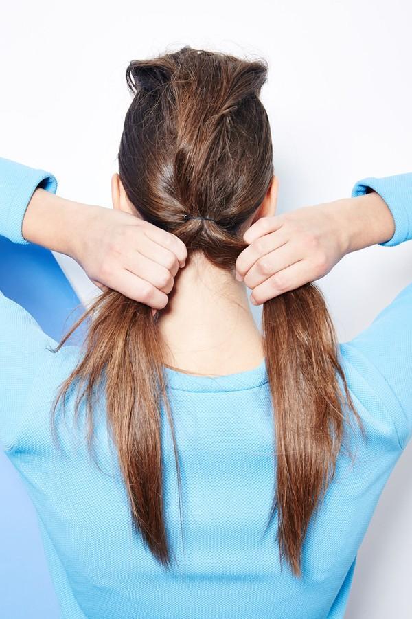 Hướng dẫn 5 cách làm kiểu tóc đuôi ngựa đẹp cho nàng sành điệu dạo phố cuối tuần hè 2015 phần 22