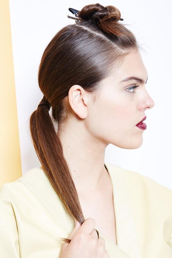Hướng dẫn 5 cách làm kiểu tóc đuôi ngựa đẹp cho nàng sành điệu dạo phố cuối tuần hè 2015 phần 29