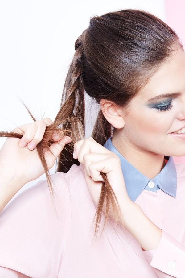 Hướng dẫn 5 cách làm kiểu tóc đuôi ngựa đẹp cho nàng sành điệu dạo phố cuối tuần hè 2015 phần 3