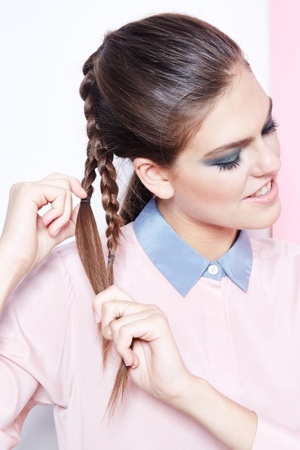 Hướng dẫn 5 cách làm kiểu tóc đuôi ngựa đẹp cho nàng sành điệu dạo phố cuối tuần hè 2015 phần 4