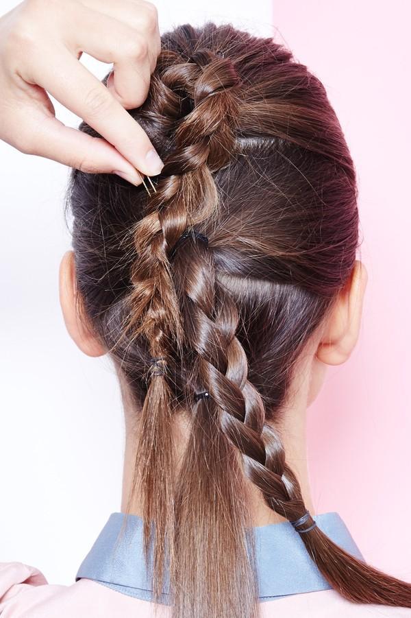 Hướng dẫn 5 cách làm kiểu tóc đuôi ngựa đẹp cho nàng sành điệu dạo phố cuối tuần hè 2015 phần 5