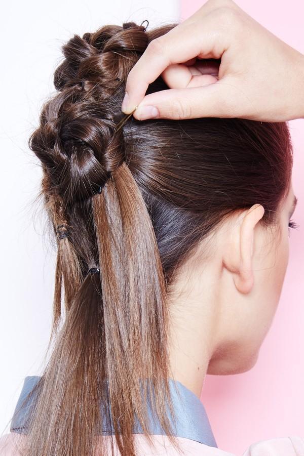 Hướng dẫn 5 cách làm kiểu tóc đuôi ngựa đẹp cho nàng sành điệu dạo phố cuối tuần hè 2015 phần 6