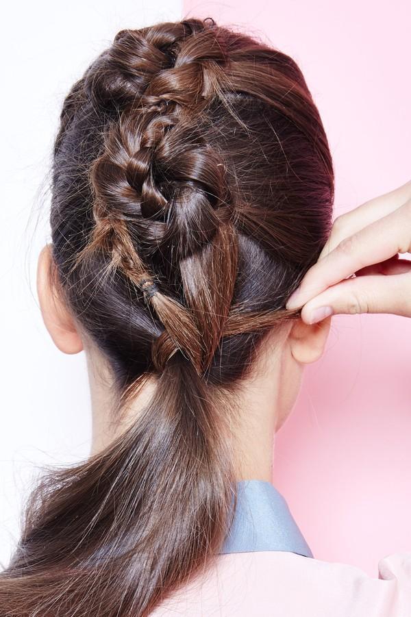 Hướng dẫn 5 cách làm kiểu tóc đuôi ngựa đẹp cho nàng sành điệu dạo phố cuối tuần hè 2015 phần 7