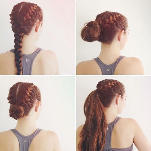 Hướng dẫn chăm sóc tóc chắc khỏe đơn giản cho cô nàng chơi thể thao phần 4