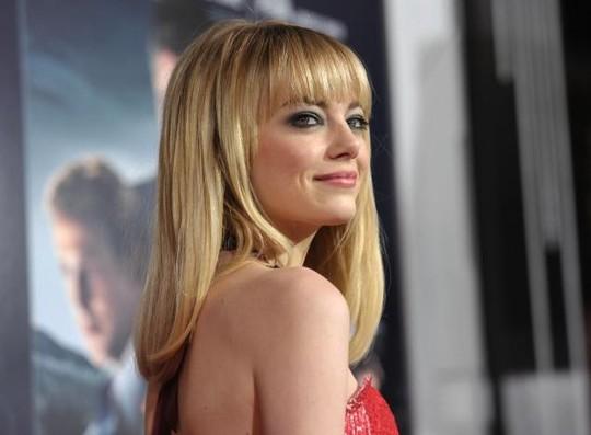 21+ kiểu tóc đẹp đa phong cách cực quyến rũ 2017 của nữ diễn viên Emma Stone phần 12