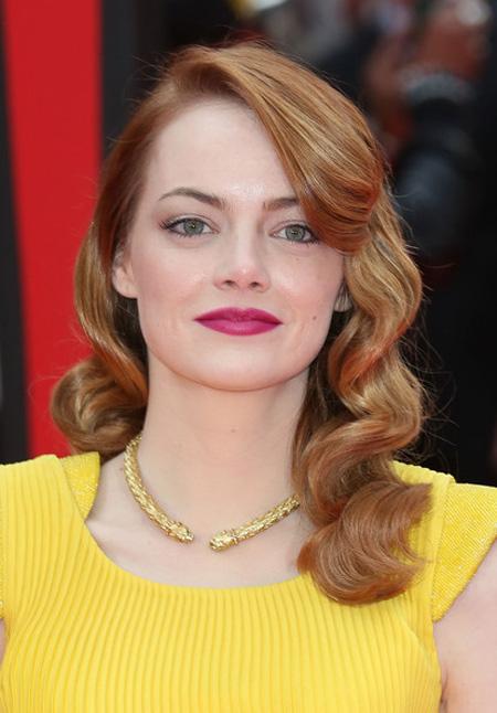 21+ kiểu tóc đẹp đa phong cách cực quyến rũ 2017 của nữ diễn viên Emma Stone phần 4