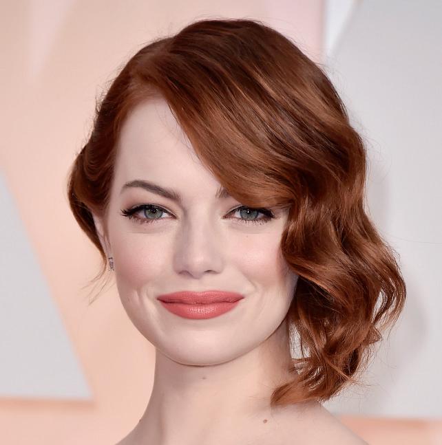 21+ kiểu tóc đẹp đa phong cách cực quyến rũ 2017 của nữ diễn viên Emma Stone phần 6