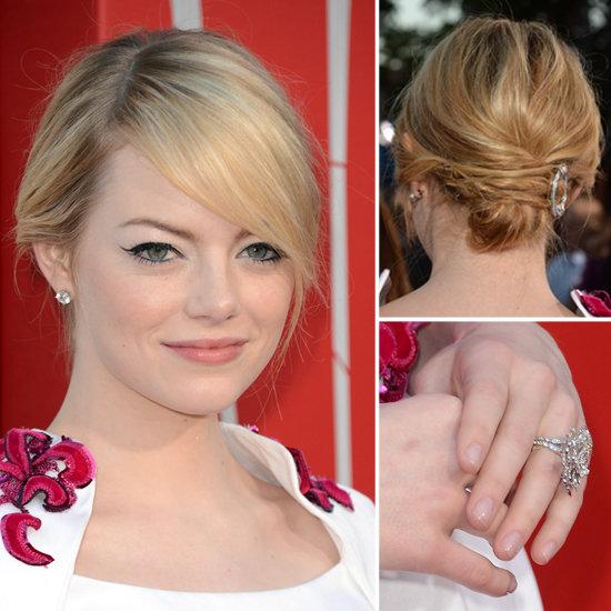 21+ kiểu tóc đẹp đa phong cách cực quyến rũ 2017 của nữ diễn viên Emma Stone phần 7