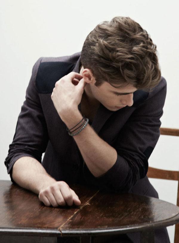 5 kiểu tóc xoăn nam đẹp cổ điển cho chàng trai khuôn mặt tròn 2017 phần 4