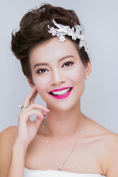 13 kiểu tóc ngắn cô dâu đẹp quyến rũ gây ấn tượng mạnh mọi người phần 1