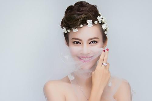 13 kiểu tóc ngắn cô dâu đẹp quyến rũ gây ấn tượng mạnh mọi người phần 10