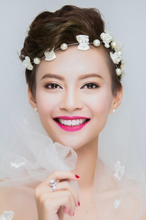 13 kiểu tóc ngắn cô dâu đẹp quyến rũ gây ấn tượng mạnh mọi người phần 11