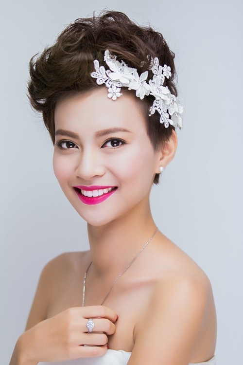 13 kiểu tóc ngắn cô dâu đẹp quyến rũ gây ấn tượng mạnh mọi người phần 12