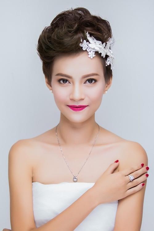 13 kiểu tóc ngắn cô dâu đẹp quyến rũ gây ấn tượng mạnh mọi người phần 13
