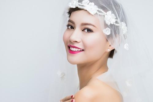 13 kiểu tóc ngắn cô dâu đẹp quyến rũ gây ấn tượng mạnh mọi người phần 6