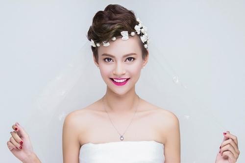 13 kiểu tóc ngắn cô dâu đẹp quyến rũ gây ấn tượng mạnh mọi người phần 8