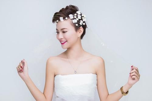 13 kiểu tóc ngắn cô dâu đẹp quyến rũ gây ấn tượng mạnh mọi người phần 9
