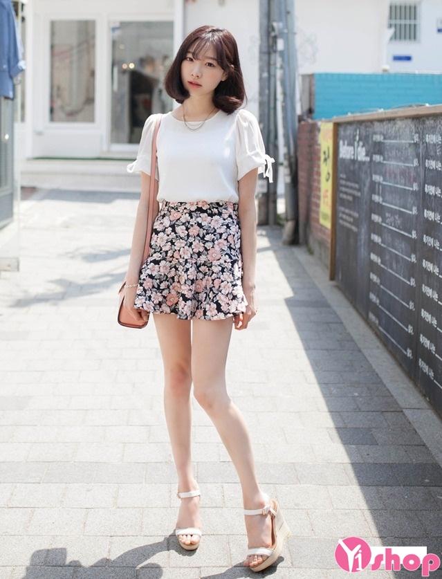 Chân váy loe đẹp cho nàng vòng 3 to quyến rũ dạo phố hè 2017 phần 2