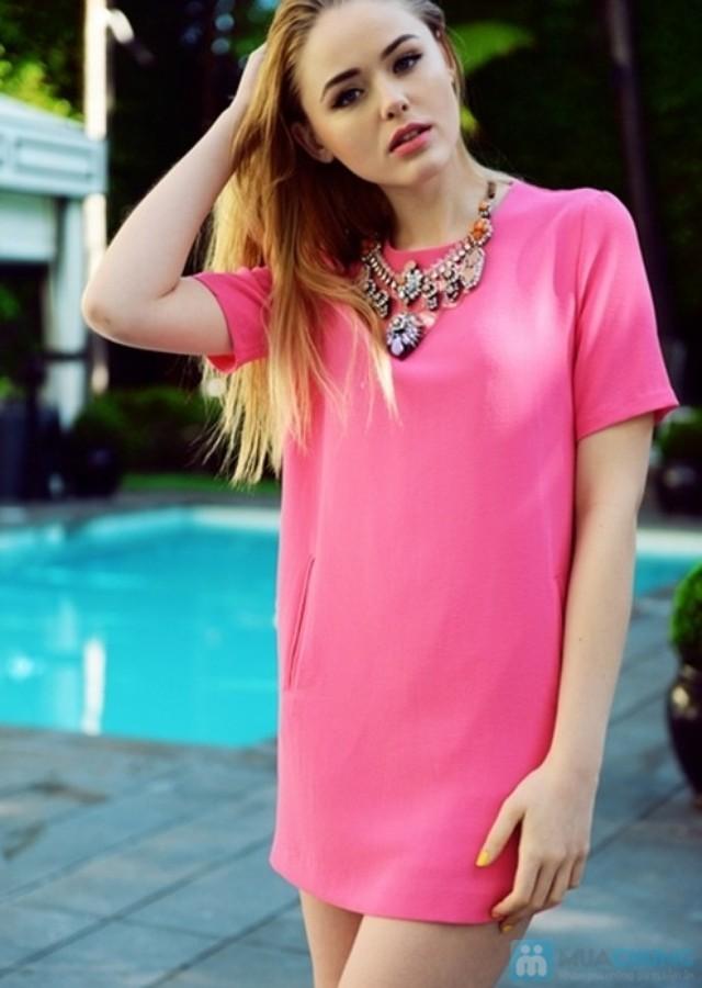 Những kiểu váy liền thân đẹp cho nàng công sở thoải mái và sành điệu chốn sở làm phần 10