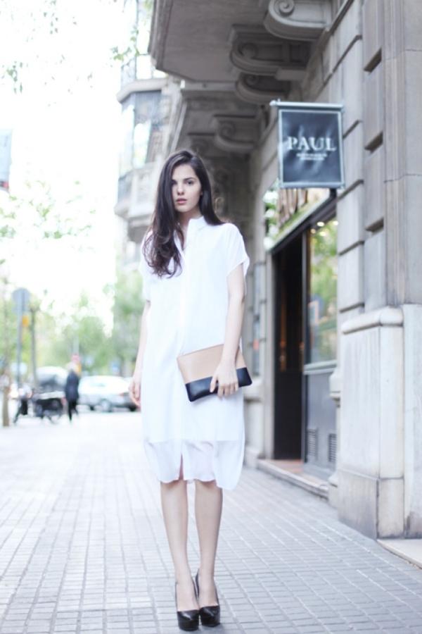 Những kiểu váy liền thân đẹp cho nàng công sở thoải mái và sành điệu chốn sở làm phần 2