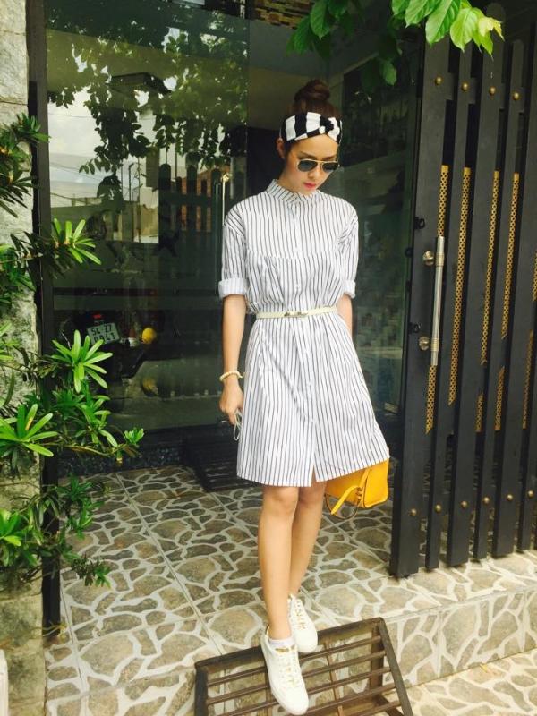Những kiểu váy liền thân đẹp cho nàng công sở thoải mái và sành điệu chốn sở làm phần 4