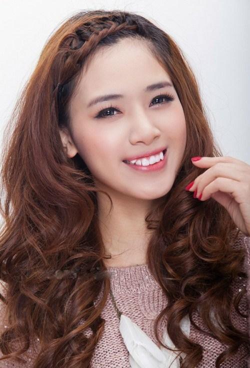 Màu tóc nhuộm nâu hạt dẻ dịu đẹp 2017 sao kpop Hàn Quốc phần 10
