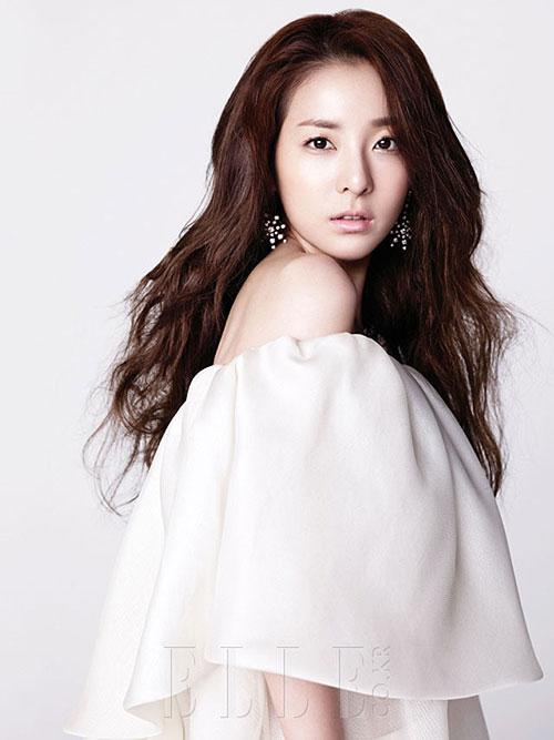 Màu tóc nhuộm nâu hạt dẻ dịu đẹp 2017 sao kpop Hàn Quốc phần 15