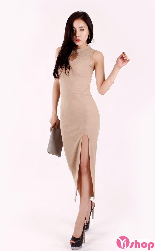 Váy len ôm sát body đẹp hè 2017 cho bạn gái tôn dáng chuẩn phần 9