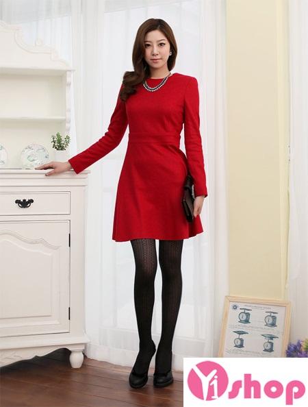 Váy liền thân màu đỏ đẹp nổi bật hè 2017 tỏa sáng chinh phục mọi ánh nhìn phần 15