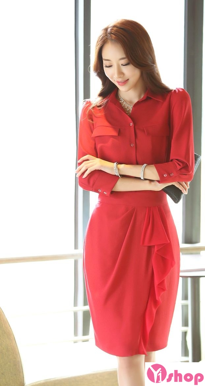 Váy liền thân màu đỏ đẹp nổi bật hè 2017 tỏa sáng chinh phục mọi ánh nhìn phần 3