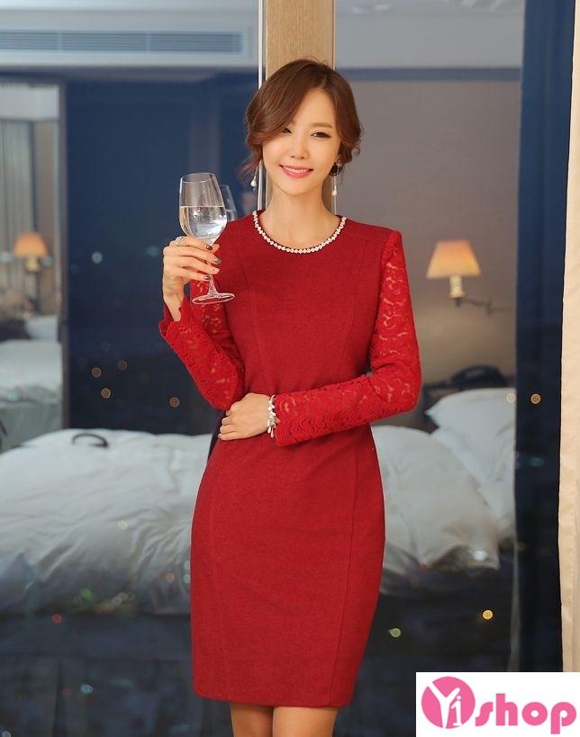 Váy liền thân màu đỏ đẹp nổi bật hè 2017 tỏa sáng chinh phục mọi ánh nhìn phần 5