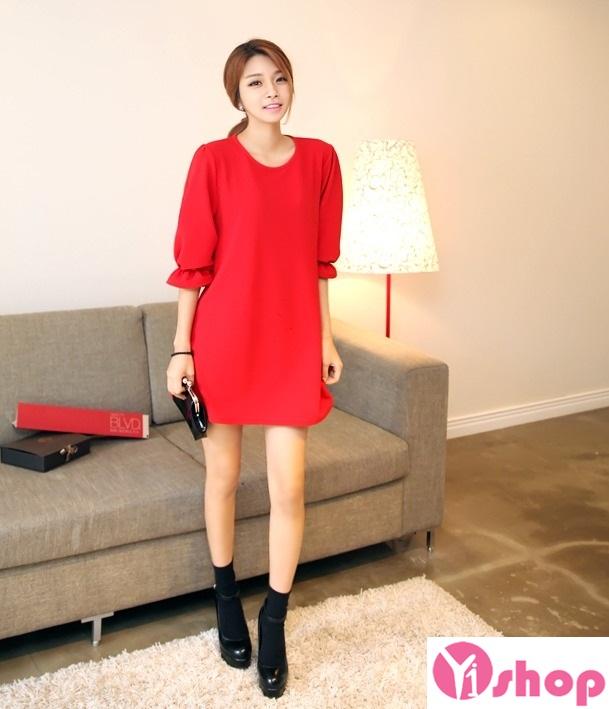 Váy liền thân màu đỏ đẹp nổi bật hè 2017 tỏa sáng chinh phục mọi ánh nhìn phần 6