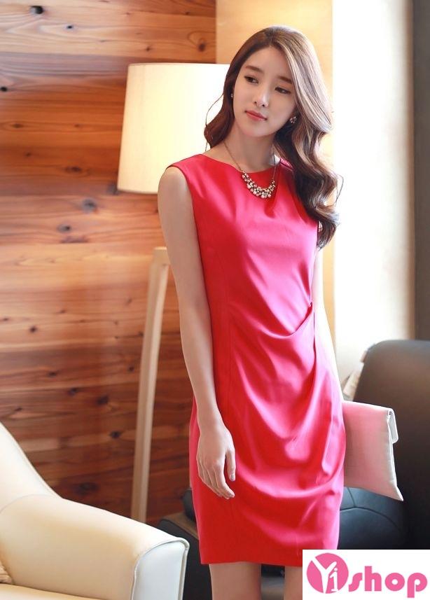 Váy liền thân màu đỏ đẹp nổi bật hè 2017 tỏa sáng chinh phục mọi ánh nhìn phần 7