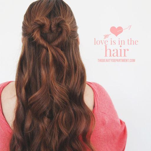 12 kiểu tóc trái tim đẹp cho nàng thật cuốn hút dịp lễ valentine phần 1