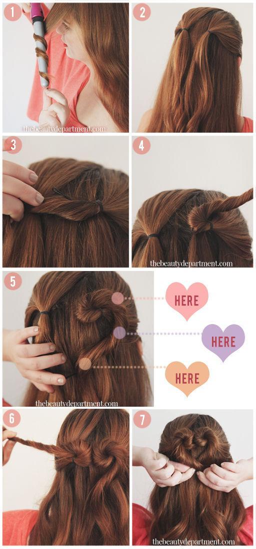 12 kiểu tóc trái tim đẹp cho nàng thật cuốn hút dịp lễ valentine phần 2