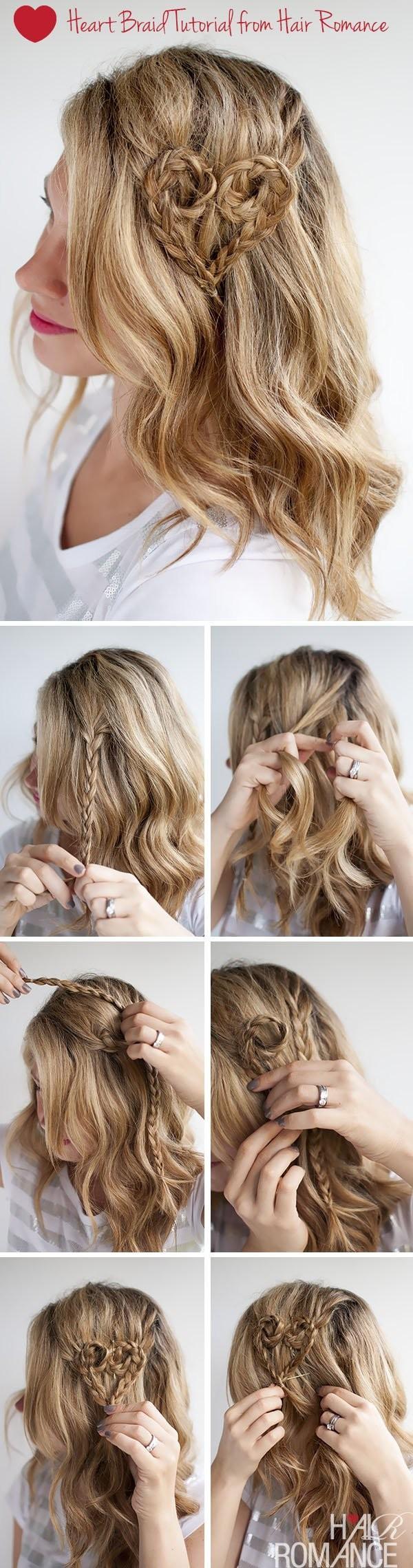 12 kiểu tóc trái tim đẹp cho nàng thật cuốn hút dịp lễ valentine phần 4