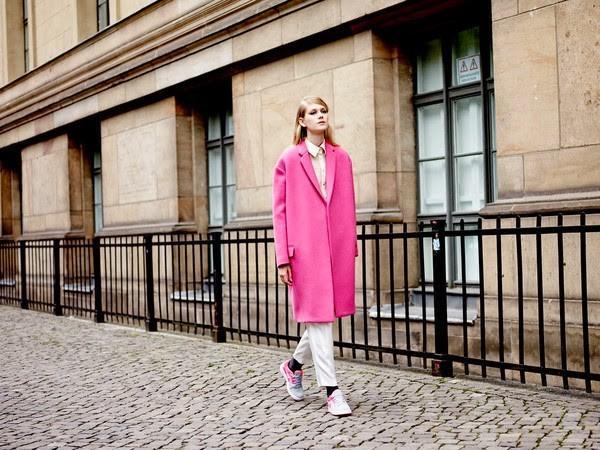 Áo khoác nữ màu hồng đẹp cho nàng công sở trang nhã thu đông 2016 - 2017 phần 1