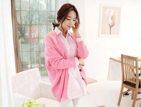 Áo khoác nữ màu hồng đẹp cho nàng công sở trang nhã thu đông 2016 - 2017 phần 10