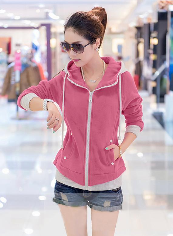 Áo khoác nữ màu hồng đẹp cho nàng công sở trang nhã thu đông 2016 - 2017 phần 2