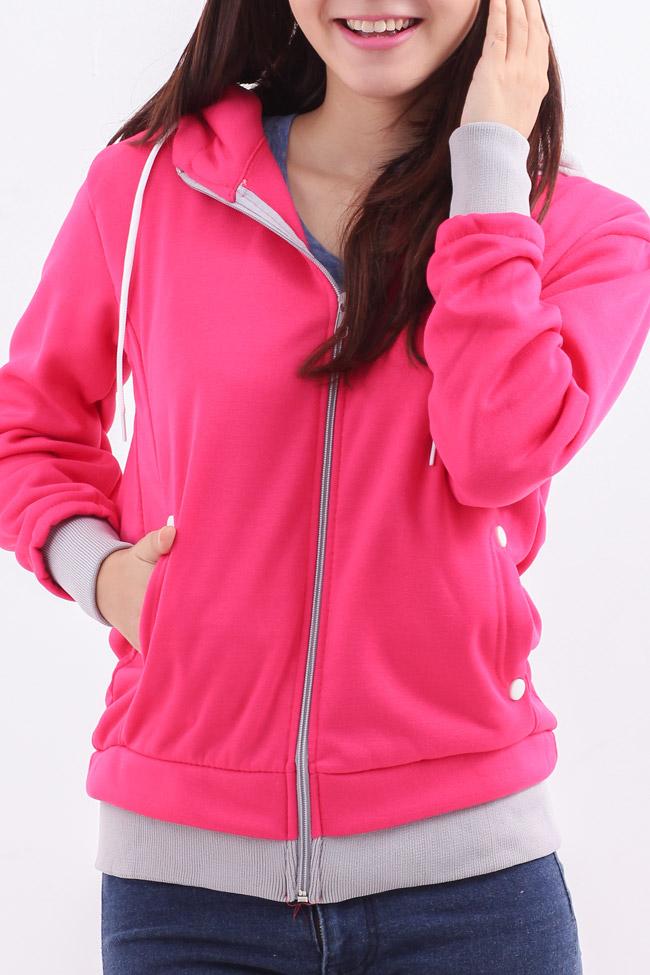 Áo khoác nữ màu hồng đẹp cho nàng công sở trang nhã thu đông 2016 - 2017 phần 5