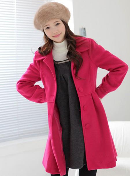 Áo khoác nữ màu hồng đẹp cho nàng công sở trang nhã thu đông 2016 - 2017 phần 8