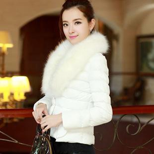 Áo khoác phao nữ cổ lông đẹp cho nàng xinh xắn ấm áp thu đông 2016 - 2017 phần 8