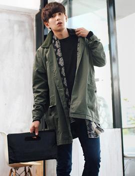 Kiểu áo khoác nam đang gây sốt phong cách hàn quốc đẹp đông 2016 - 2017 ấm áp phần 1
