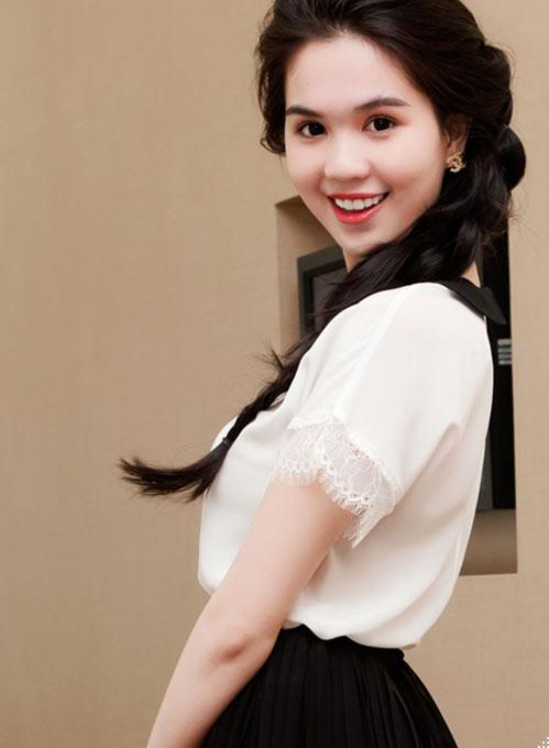 Những kiểu tóc tết đẹp đơn giản của Ngọc Trinh 2016 dễ thương phần 4