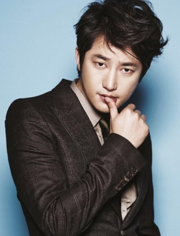 Tóc nam mái xéo đẹp của các sao kpop Hàn Quốc nổi tiếng nhất 2017 phần 11