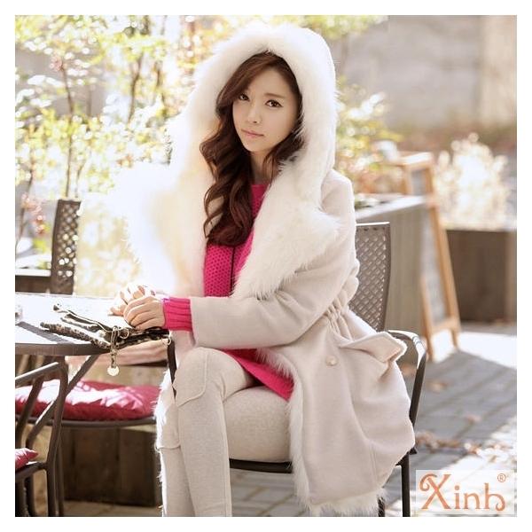 áo Khoác Nữ Lông Vũ Hàn Quốc đẹp Sang Trọng đi Dự Tiệc Mùa đông