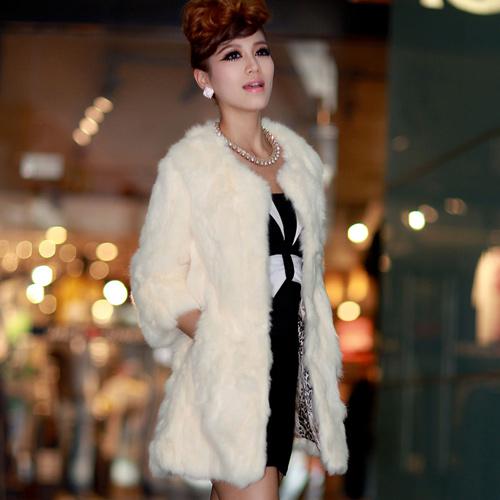áo Khoác Nữ Lông Vũ Hàn Quốc đẹp Sang Trọng Thu đông 2015 2016